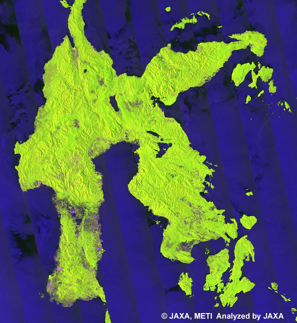 Enlarged Image - Sulawesi TileA02 FY2009 FBD