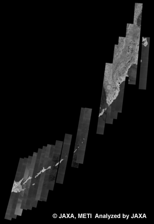 Fig. 21: The 500m Browse Mosaic (FBS/HH Descending) of Siberia for cycle39 (Oct. 31, 2010 ~ Dec. 15, 2010).