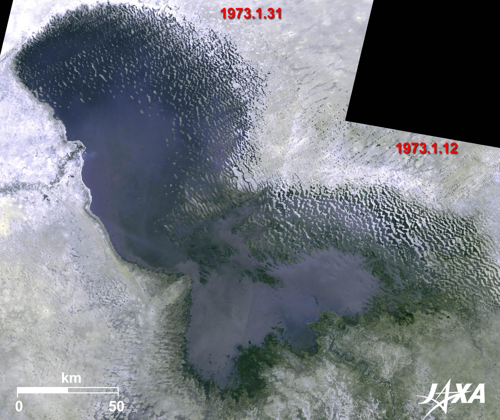 縮小する砂漠の湖、チャド湖 | ...