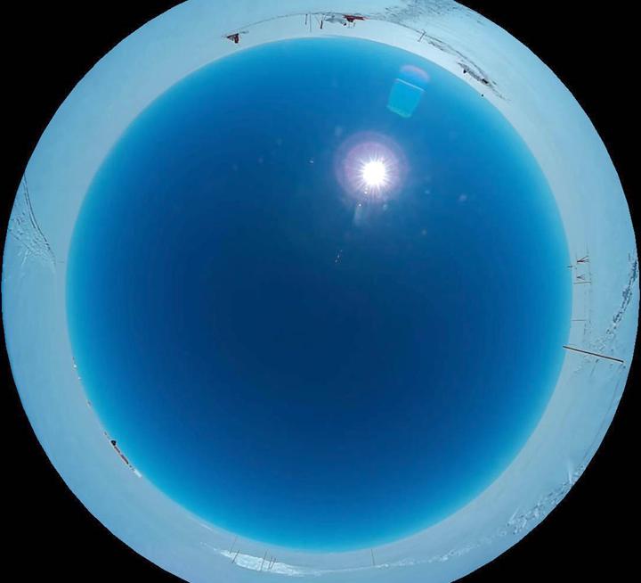 2018年7月13日15時2分(UTC)頃にEast GRIPにて撮影された全天画像