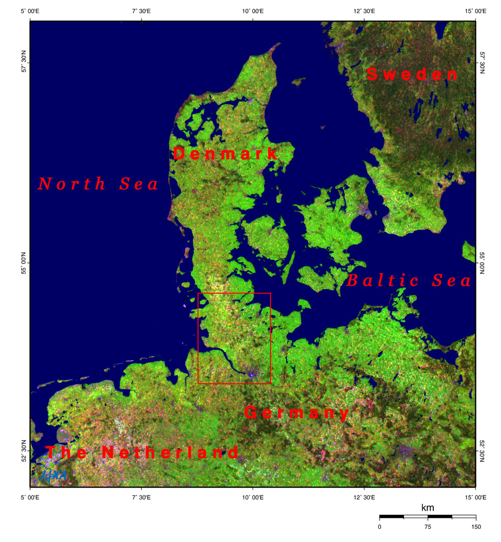 Picture of: Hamburg And The Kiel Canal Connecting The North Sea And The Baltic Sea 2006 Jaxa Earth Observation Research Center Eorc