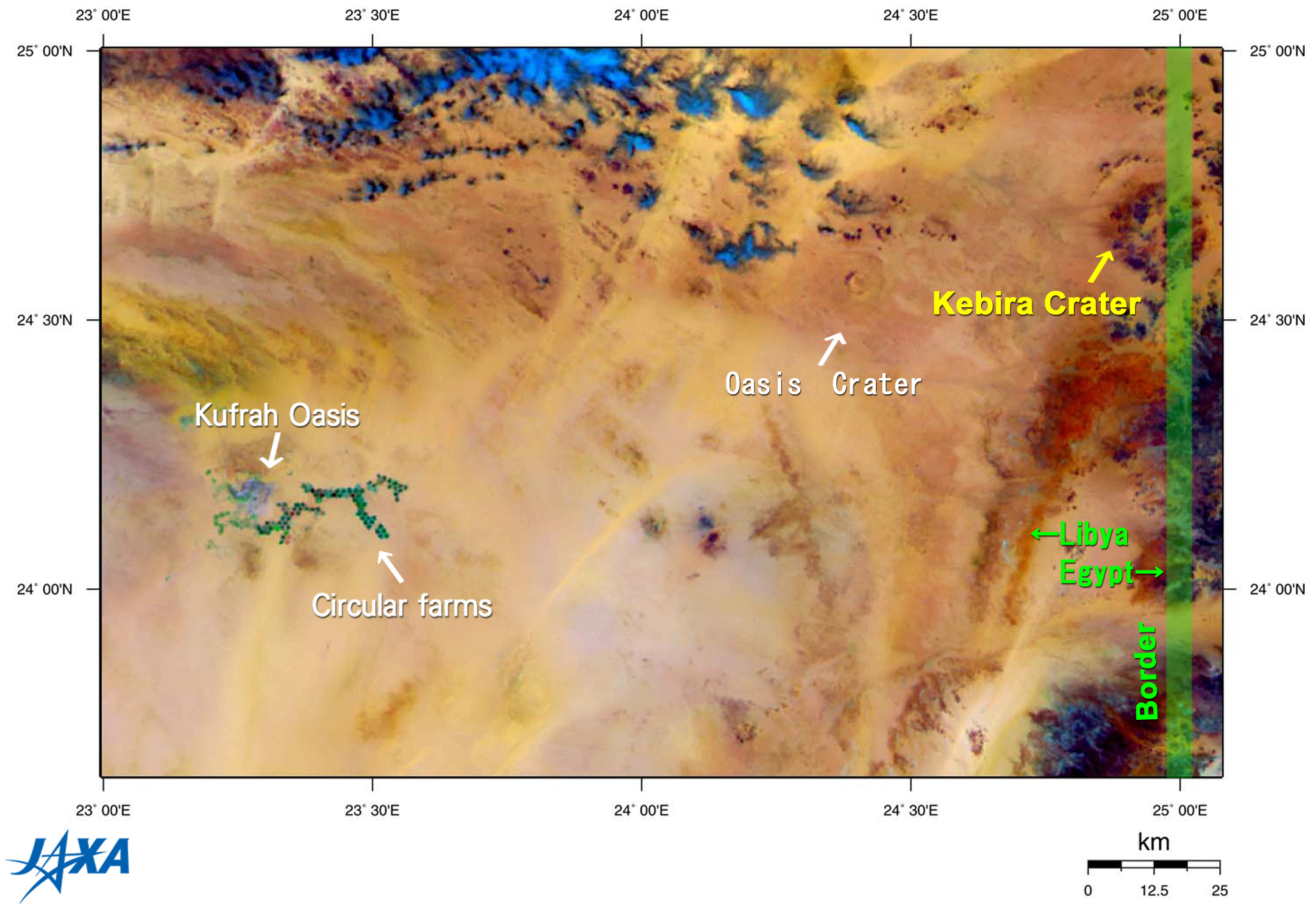 Kebira Crater Mystery in Sahara Desert | 2008 | JAXA Earth ... on maps of animals, maps of movies, maps of western, maps of nature, maps of god, maps of everything, maps of london, maps of hollywood, maps of fun, maps of florida, maps of heaven, maps of sports, maps of castle,