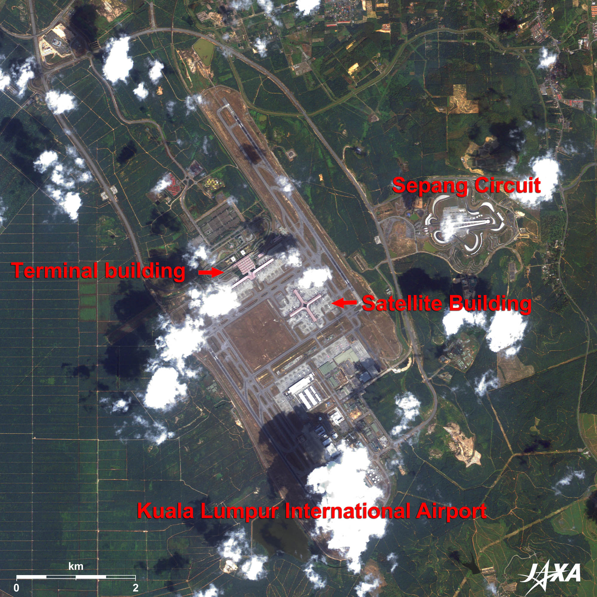 New Airports in Asia | 2010 | JAXA Earth Observation